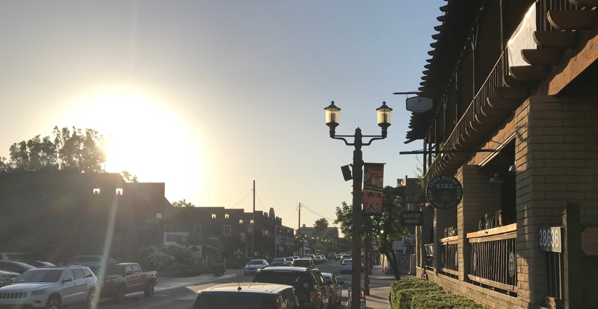 View of Old Town Front St, Temecula