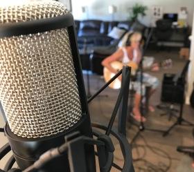 Vibratory Productions Recording Session Photo