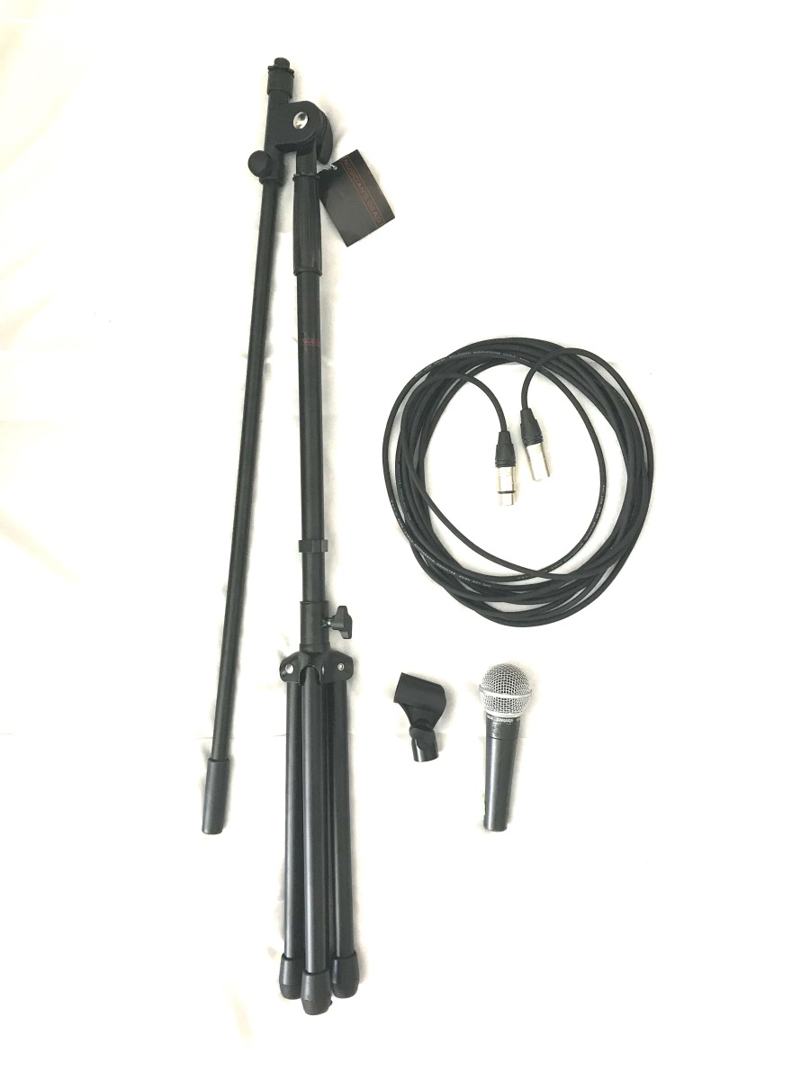 Shure 58 + Mic Stand
