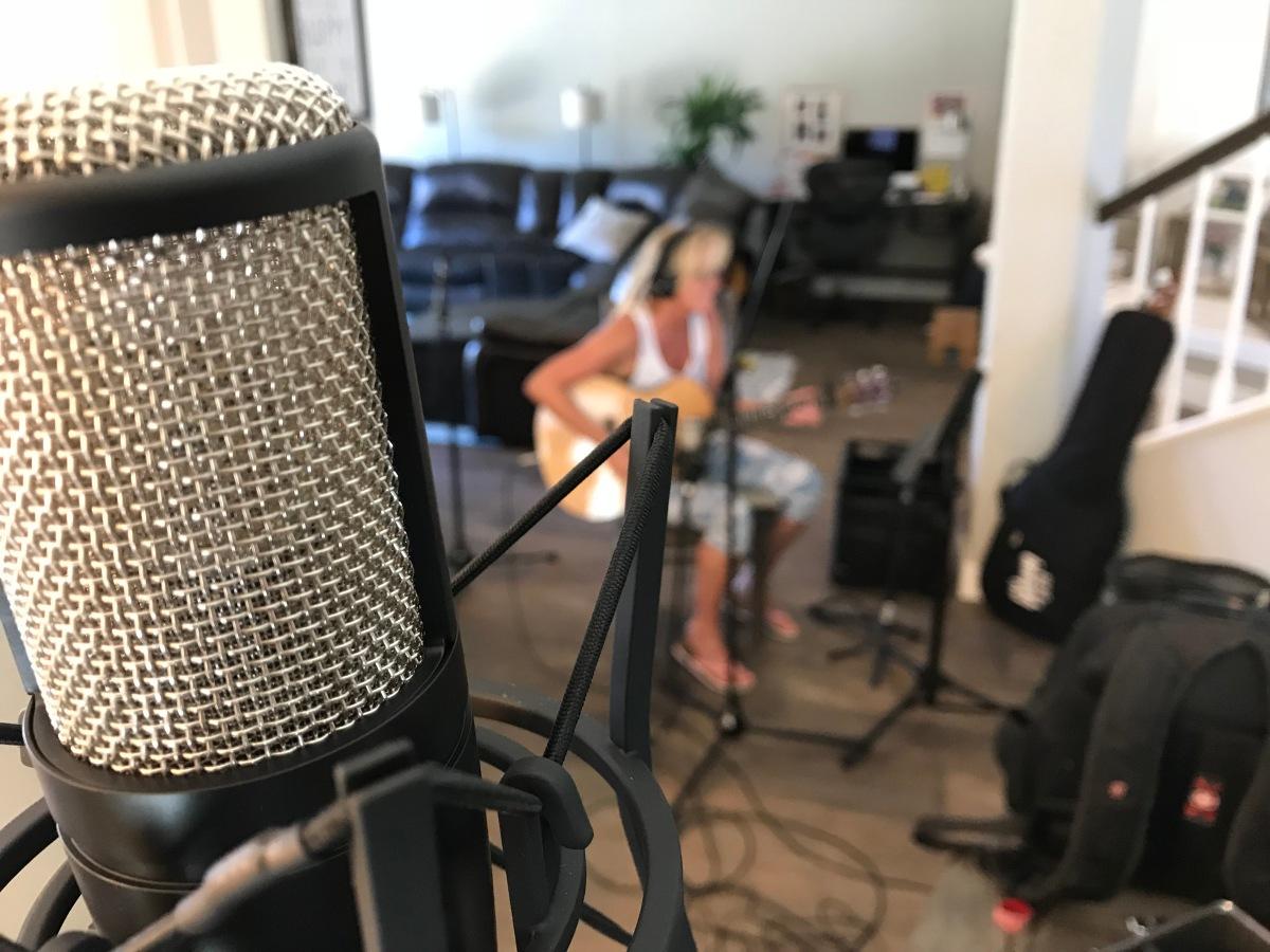 Vibratory Productions home recording,Mary Lynn Bates